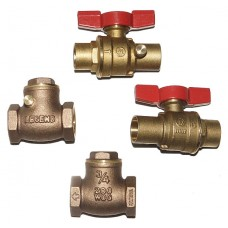 """Standard """"No Lead"""" Valve Kit for Hydonic Heating Products"""